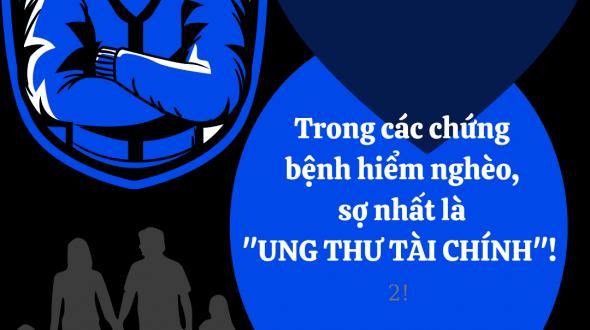 """TRONG CÁC CHỨNG BỆNH HIỂM NGHÈO, SỢ NHẤT LÀ """"UNG THƯ TÀI CHÍNH""""! ( ♤ )"""